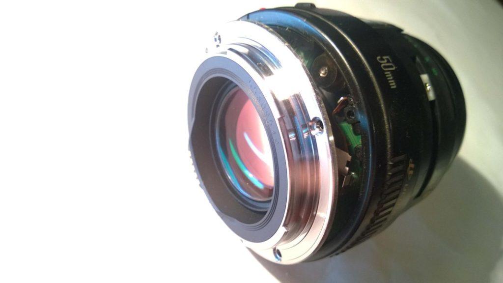 Canon EF 50mm ремонт
