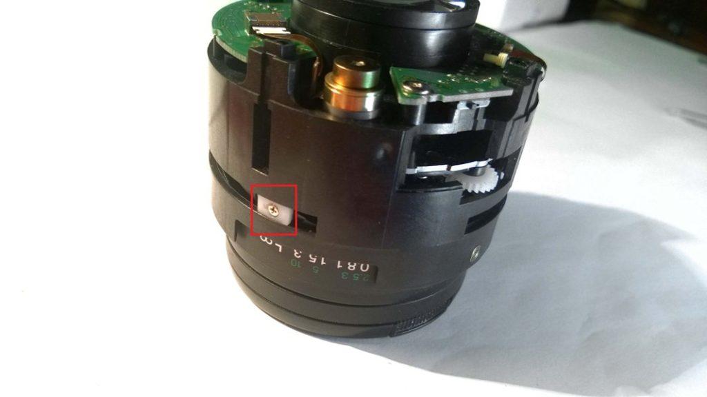Canon EF 50mm после падения