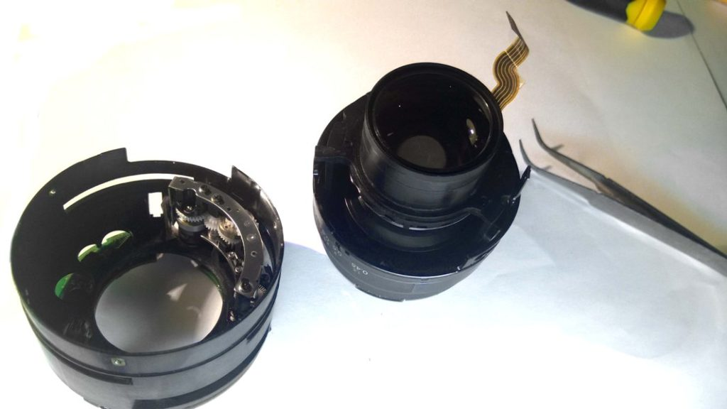 Canon EF 50mm редуктор фокусировки
