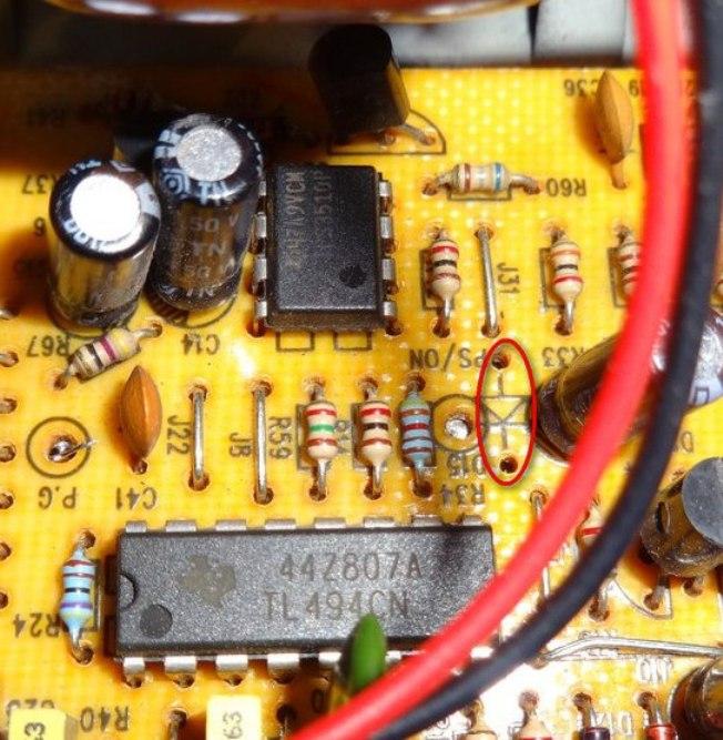 TL494 и TPS3510 переделка