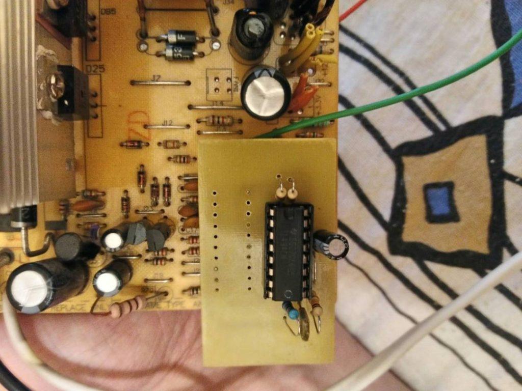 Замена SG6105 на TL494 с помощью платы-переходника