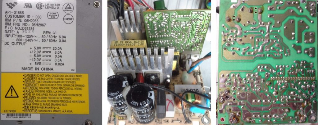 Блок питания АТ IBM API-3186S