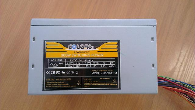 COLORSit 330U-FNM на ШИМ SG6105