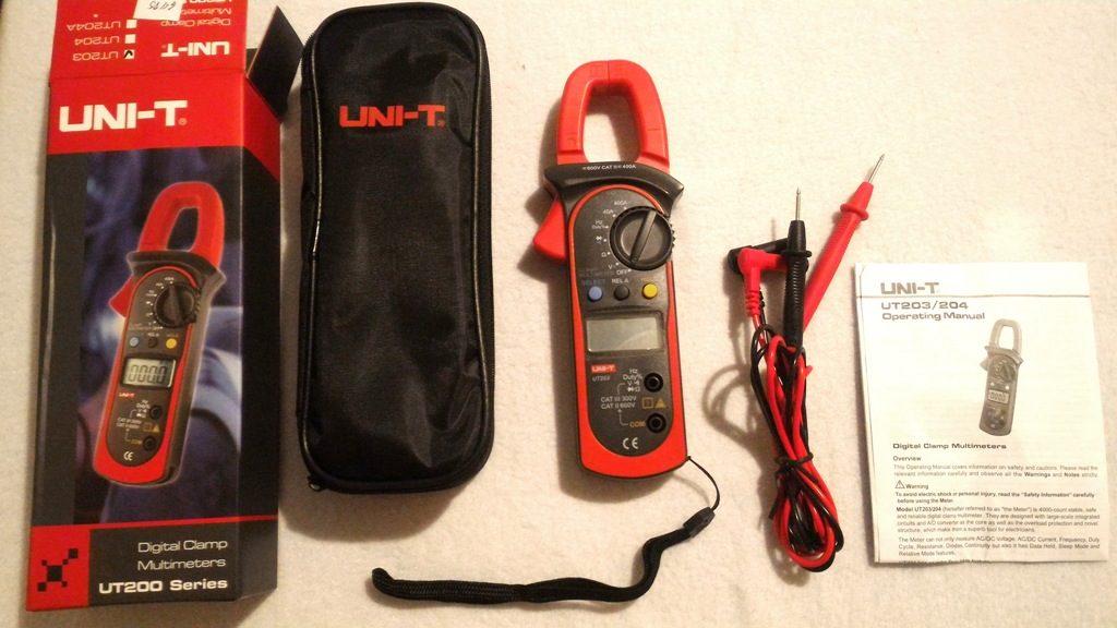 Токовые клещи UNI-T UT203