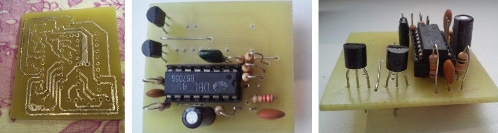 переходник с SG6105 на TL494