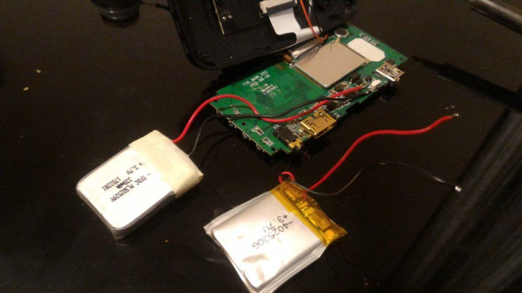 Dex DVR-175 замена аккумулятора
