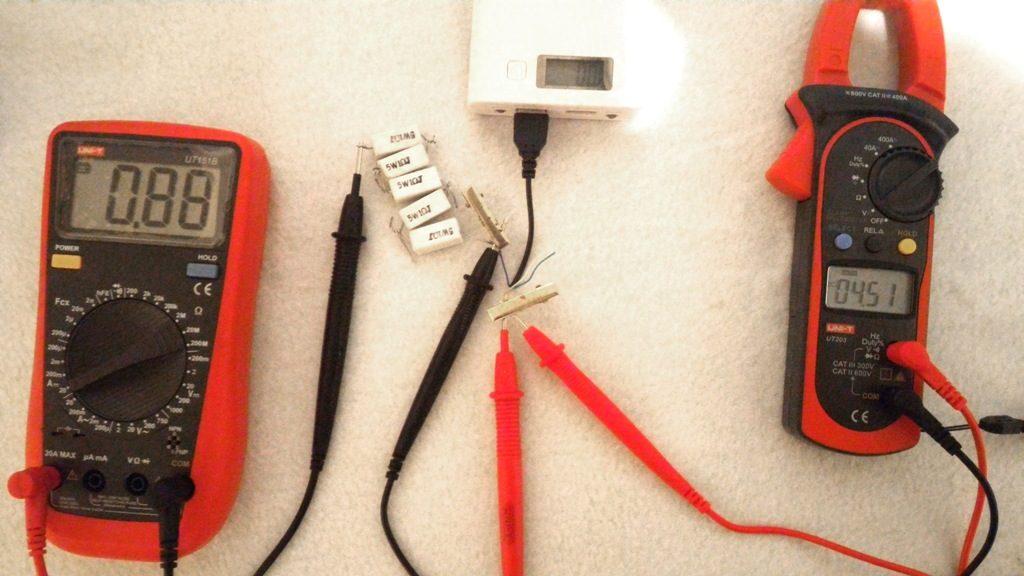 power bank 8шт 18650 тест