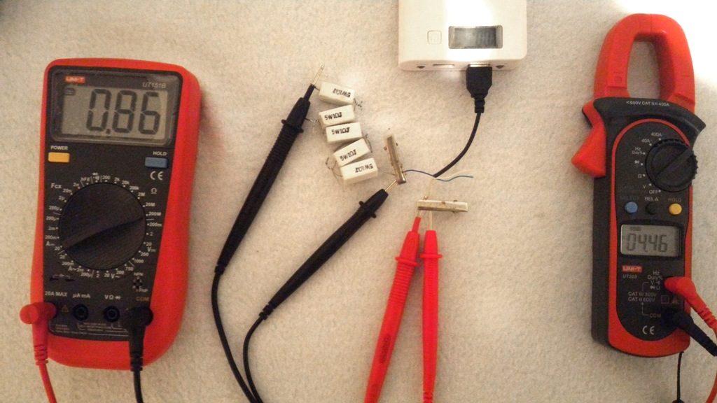 Power Bank 2А тест