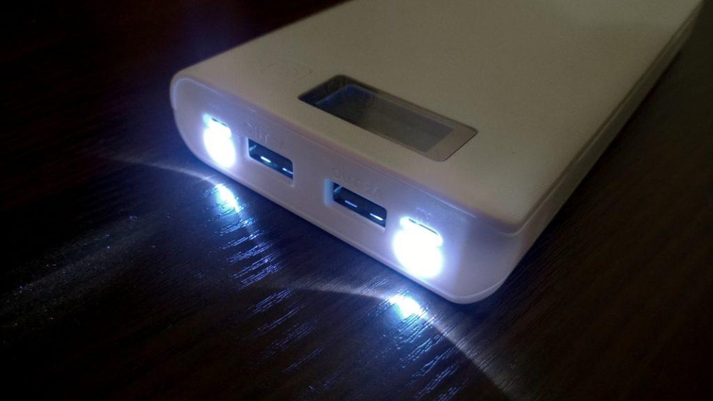 Power Bank с фонариком