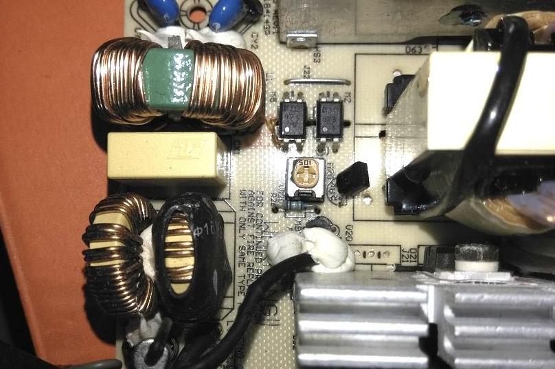 FSP460-60HCN регулировка напряжения