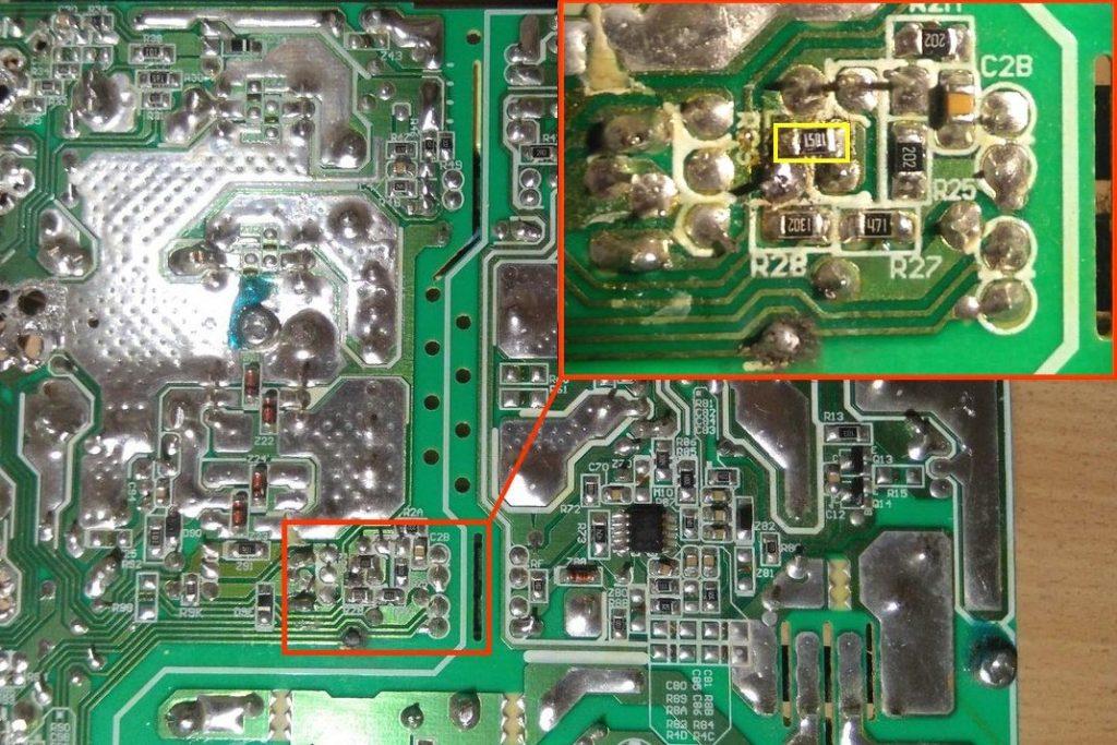 FSP460-60HCN переделка в зарядное