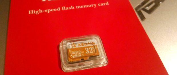 обзор Xedain micro SDHC 32Gb