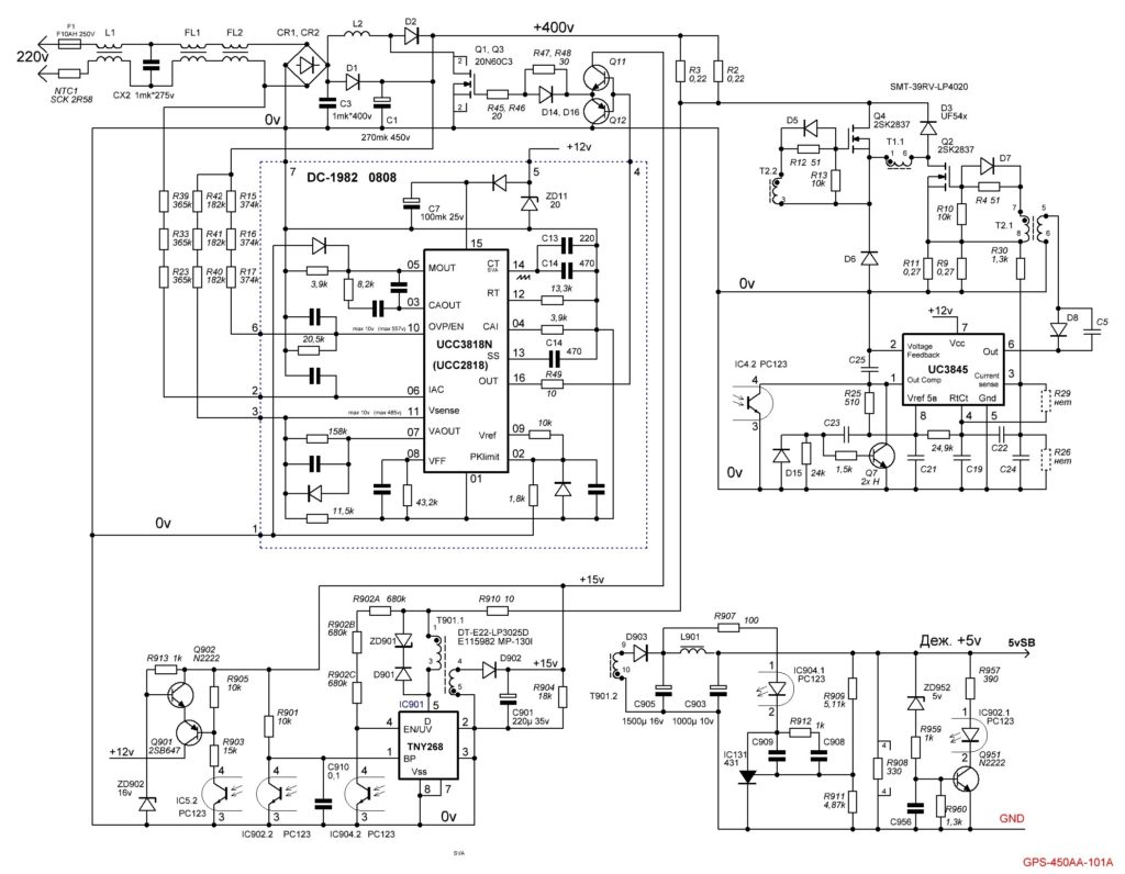 GPS-400AA-101 A схема
