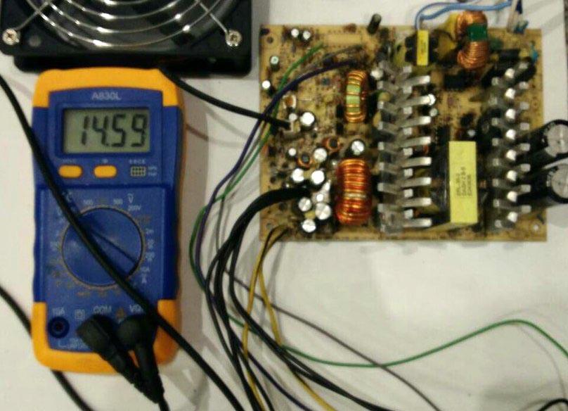 переделка IP-S350 в зарядное