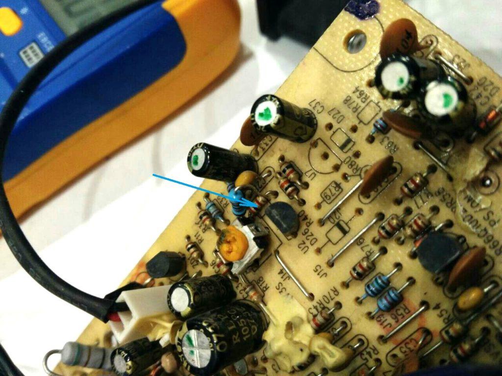 IP-S350Q2 регулировка напряжения